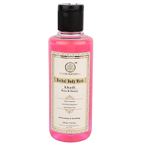 Khadi Rose &Amp; Honig Bad erfrischend Herbal Body Wash (Wash Body Herbal Gel)