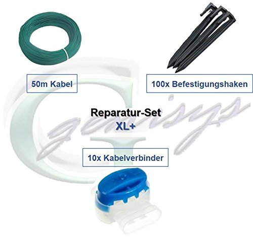 Reparatur-Set XL+ Worx Landroid S* M* L* Kabel Haken Verbinder Reparatur Paket