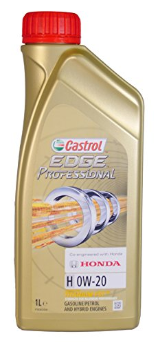 Castrol EDGE Professional H 0W20 - Olio per Auto, Lubrificante Titanium 0W-20 1 Litro