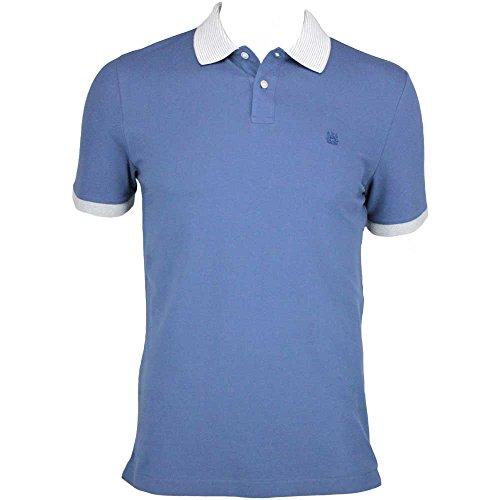 Herren Aquascutum blau Poole Polo Shirt 011559008 Blau - Blau