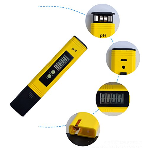FAVOLOOK-PH-Messgerät, digital, Acidometer, Wasser, Wein, Aquarium, Pool, Hydrokultur, LCD-Display