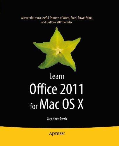 Learn Office 2011 for Mac OS X by Guy Hart-Davis (2010-12-22) par Guy Hart-Davis