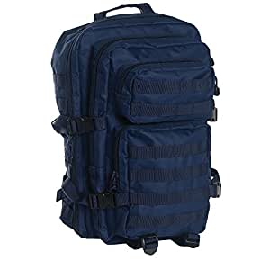Mil-Tec US assault Pack Large Laser Cut Grand sac à dos Dark Blau 51 x 29 x 28 cm, 36 Liter