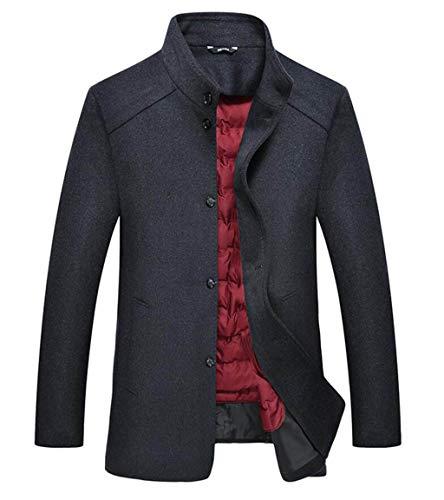 GKKXUE Hier Finden Sie weitere Informationen zu Engleis et Manteau und Chemise à Manches Longues (Farbe : Gray, größe : ()