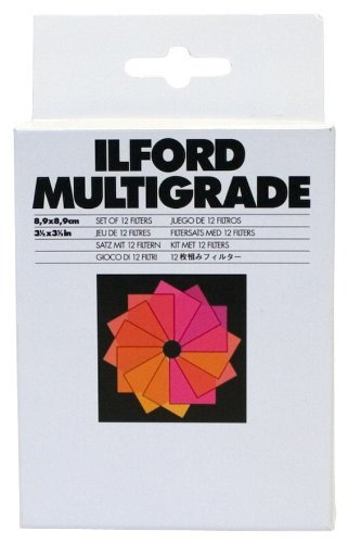 Galleria fotografica Ilford 1762628 Contrast camera filter 89mm camera filter - Camera Filters (8.9 cm, Contrast camera filter, 12 pc(s))