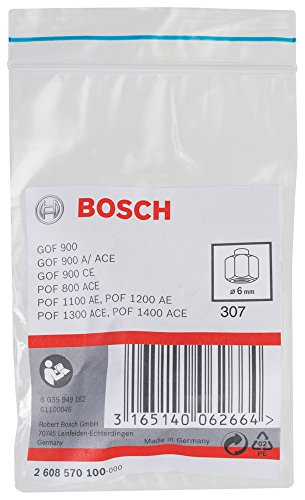Bosch 2608570100 Collet/Nut Set for Bosch Routers
