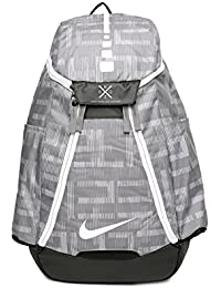 Nike Unisex Grey ELT MAX AIR BKPK- AOP Graphic Basketball Backpack