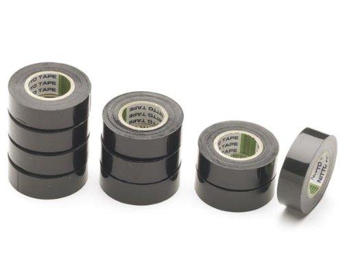 NITTO - 1040-NPC Isolierband, 19 mm x 10 m Abmessungen, Schwarz 165842