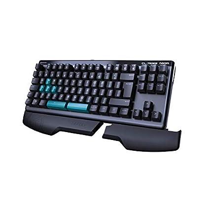 Nacon GM-350L - Teclado Gaming óptico para PC c...