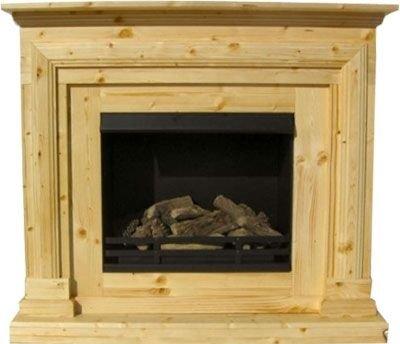 BBT@ / Gelkamin Ethanolkamin Kiefer / Für Brenngel oder Bio-Ethanol / BBT-10001020 / Echtes Kamin-Feuer ohne Rauch, Asche oder Staub