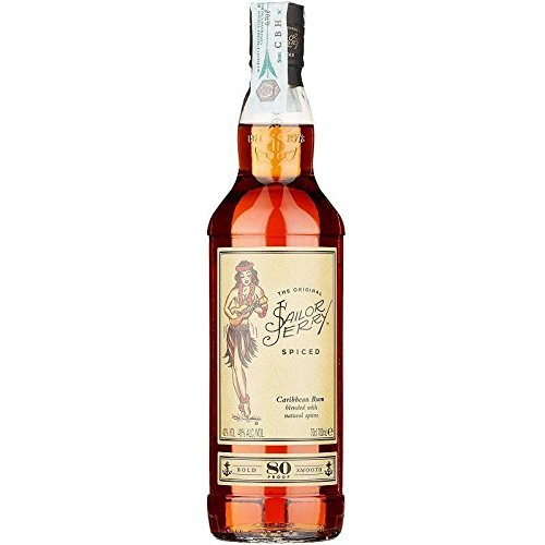 Sailor Jerry Spiced Caribbean Rum 80 Proof 0,70l