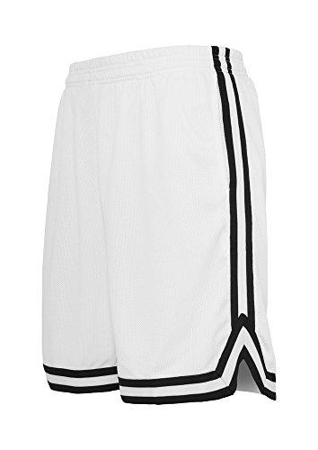 Stripes Mesh Shorts whtblkwht M (Shorts Hurley-t-shirt)