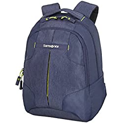 Samsonite Rewind Mochila Tipo Casual, 38 cm, 15 L, Color Azul (Dark Blue)