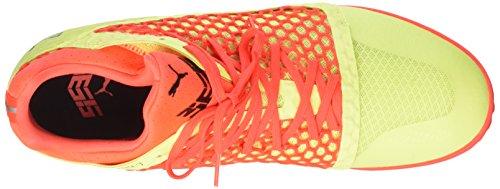 Puma Herren 365 Netfit Ct Fußballschuhe Gelb (frizzante Giallo-rosso Blast-puma Nero)
