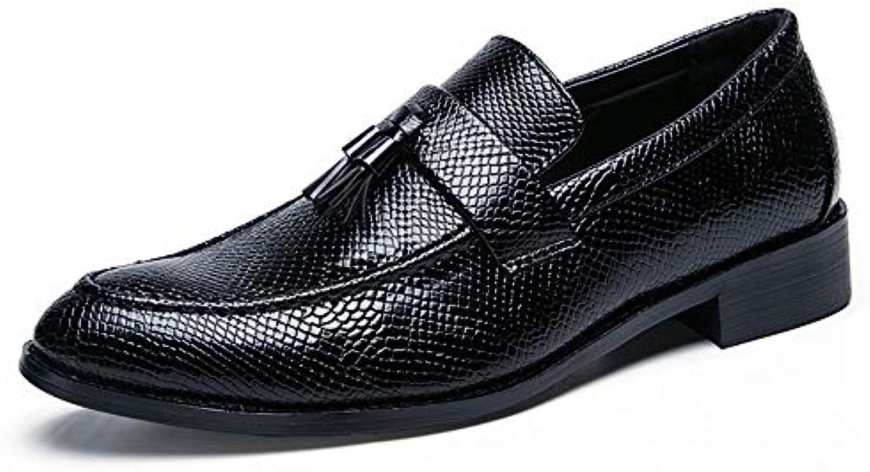 SRY-Scarpe di Moda Scarpe da Lavoro da Uomo di di di Oxford Fashion Suit 9e2c25d3ca9