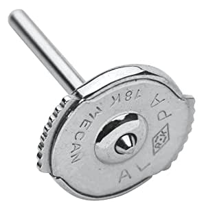 Laval - Fermoir pour boucles d'oreilles or gris 750/1000e- (5 paires)