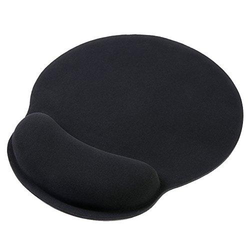 Eastshining ergonomische Mauspad gel Handgelenkauflage Maus Handballenauflage Anti-Sehnenscheidenprobleme für Computer und Laptop,schwarz