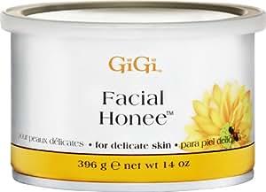 GiGi Cire Facial Honee Pot de 400 g