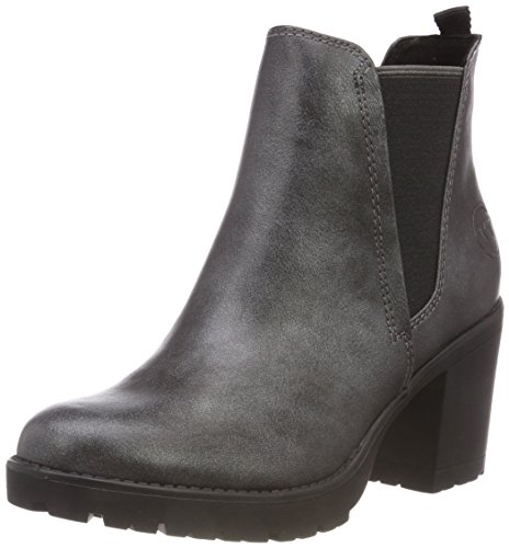 MARCO TOZZI Damen 25414-31 Chelsea Boots, Grau (Pewter Antic 937), 36 EU
