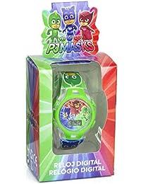 Disney PJ Masks - Reloj Digital con Caja de Regalo, PJ17026