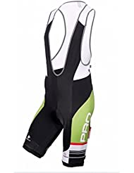 NALINI BIBSHORT CALAGGIO GREEN BLACK WHITE M