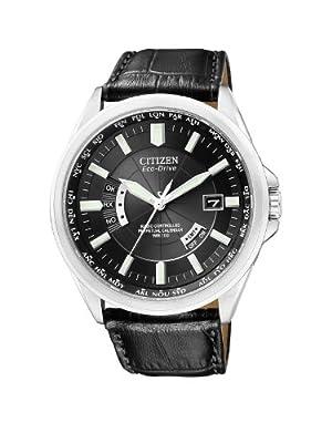 Citizen CB0010-02E - Reloj analógico de cuarzo para hombre, correa de cuero color negro de Citizen