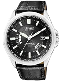 Citizen Herren-Armbanduhr XL Analog Quarz Leder CB0010-02E