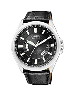 Citizen - CB0010-02E - Montre Homme - Quartz Analogique - Cadran - Bracelet Cuir Noir (B0093U7TEI) | Amazon Products