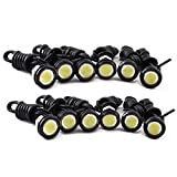 Tiswell Autolichter, 9W, LED, Eagle Eye, Weißes Licht, Nebelscheinwerfer, Tagfahrlicht, Rücklicht