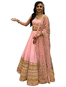 0f53c00ce5 Limbudy Creation Salwar Style Women's Party Wear New Year Collection  Special Sale Offer Bollywood Orange Heavy