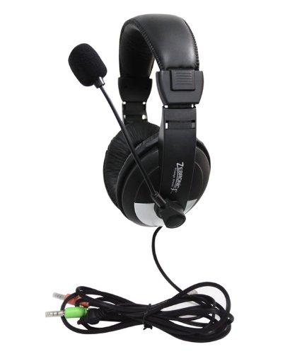 1. Zebronics H-100HM Headphone with Mic