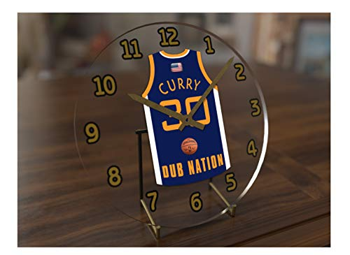 Steph Curry Golden State Warriors NBA basket Jersey Orologio? Sporting Legends Edizione Limitata