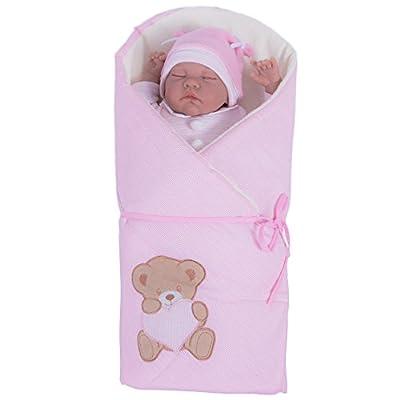 sevira Kids–Saco de dormir emein Mantita multiusos de 100% baumwolle Certificado–Nest Ángel nacimiento–Diferentes colores