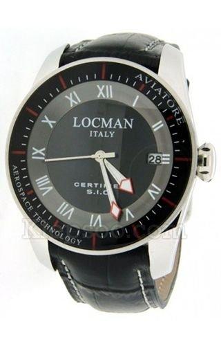 Montre Locman 045200BKFWRKPSK Noir Acier Homme