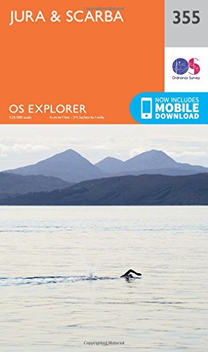 Price comparison product image OS Explorer Map (355) Jura and Scarba