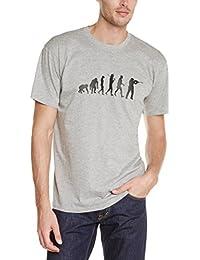Shirtzshop Erwachsene T-Shirt Original Jagd Jäger Evolution