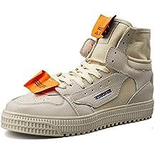 Hombre Cuero/Lienzo / Mocasines Zapatos Primavera/Otoño Respirable Tendencia/Top / Zapatillas
