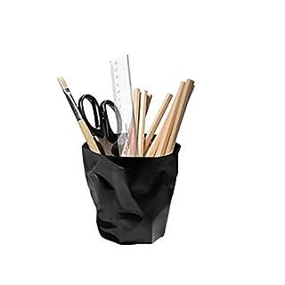 UChic 1 Stücke Kreative Out-of-Form Falten Kunststoff Bleistift Cup / Stifthalter / Kosmetik Veranstalter / Schreibtisch Sorter Bin / Briefpapier Sammlung / Make-up Pinsel Badewanne