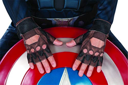 Winter Soldier Stealth Suit Costume Gloves, Child Size ()