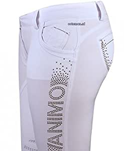 Animo culotte d'équitation pour femme modèle novella-couleur: blanc-taille: d28/i34 nouvelle collection 2015 **