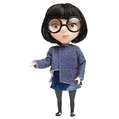 Und Neffe Onkel Kostüm - Incredibles 2 Edna Blue Costume Action-Figur 52417-7L, Multi