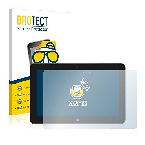 BROTECT Schutzfolie Matt für Dell Venue 11 Pro 5130 (2013-2014) [2er Pack] - Anti-Reflex