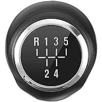 5 Velocidad Cromado MT Engranaje Perilla del Cambio de Repuesto para la Bola de Vauxhall Opel