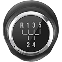 Topker 5 Velocidad Cromado MT Engranaje Perilla del Cambio de Repuesto para la Bola de Vauxhall