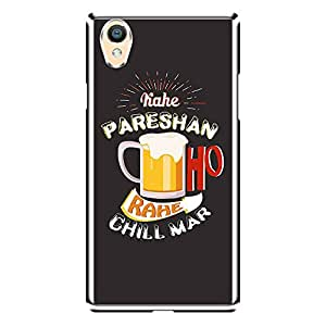 """MOBO MONKEY Designer Printed 2D Transparent Hard Back Case Cover for """"Oppo A37"""" - Premium Quality Ultra Slim & Tough Protective Mobile Phone Case & Cover"""