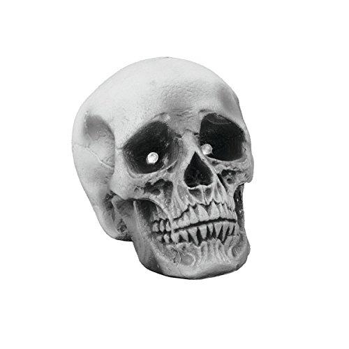 EUROPALMS Halloween Schädel 21x15x15cm LED