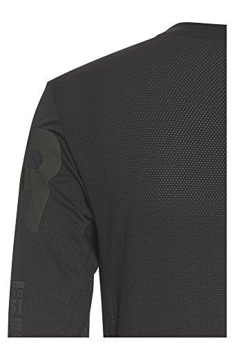VITTORIO ROSSI Herren Longsleeve Cross action Langarm-Shirt Männer Sport Fitness Funktion casual Oliv-Grau