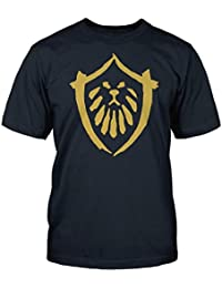 World of Warcraft Mists of Pandaria Alliance Faction Logo T-Shirt