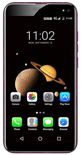 Xifo Lychee Lable 4G Volte 5.5 Inch Display 4G Smartphone (2GB RAM, 16GB Storage) in Pink Colour