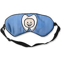 Happy Dental Smile 99% Eyeshade Blinders Sleeping Eye Patch Eye Mask Blindfold For Travel Insomnia Meditation preisvergleich bei billige-tabletten.eu